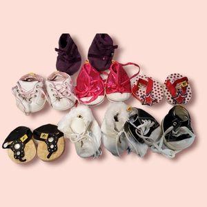Build-A-Bear Shoe/ Footwear Lot